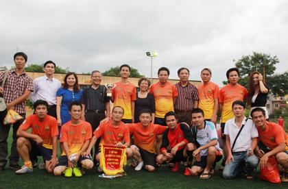 Bảo An | Hoạt Động | Tổ chức giải bóng đá Cúp Tứ Hùng